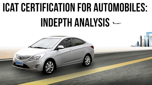 ICAT Certification for Automobilies