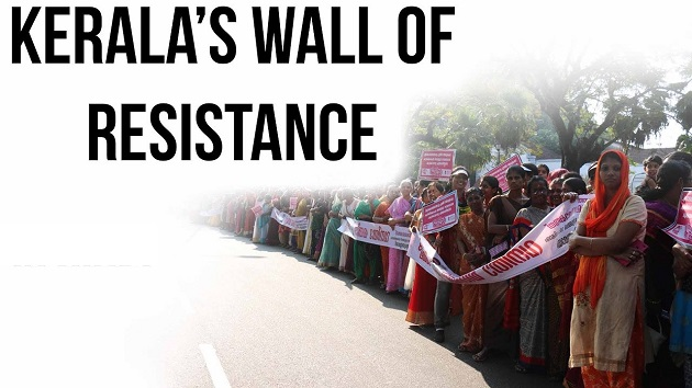 Kerala's wall of resistance
