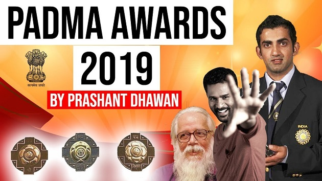 Padma Awards 2019