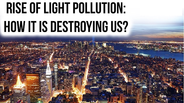 Rise of Light Pollution