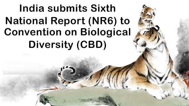 India submitted sixth national report to Convention on Biological Diversity