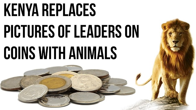 Kenya Replace Pictures Of Leaders on Coins With Animal