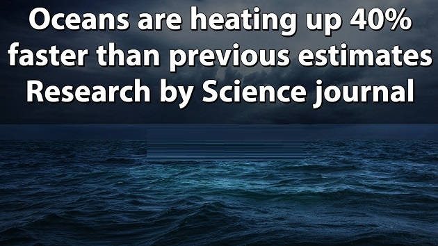 Oceans Are Heating Up 40% Faster Than Previous Estimates