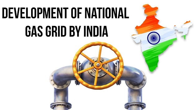 National Gas Grid project of India