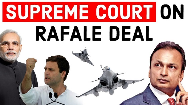 Supreme Court On Rafale Deal