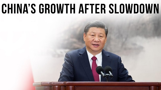 China's growth after slowdown