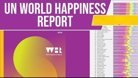 United Nations World Happiness Report 2019
