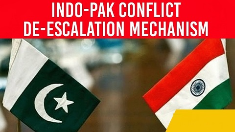 India Pakistan Conflict De-escalation Mechanisms