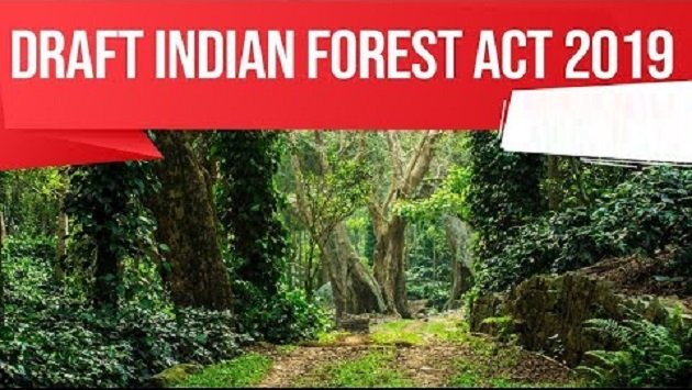 Draft Indian Forest Act 2019