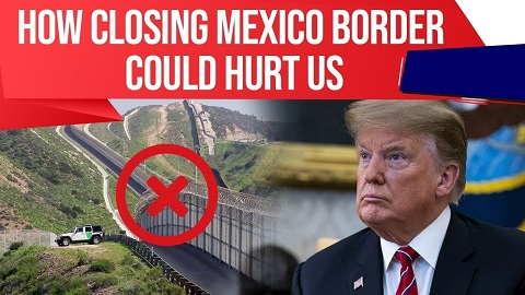 US Mexico border wall controversy