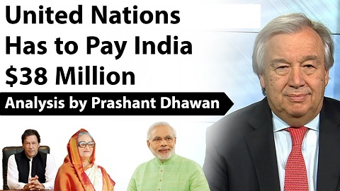 United Nations Has to Pay India $38 Million