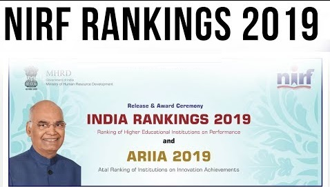 NIRF India Rankings 2019 declared