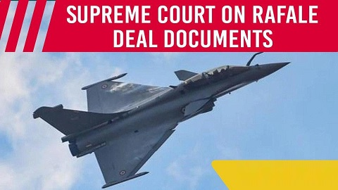 Rafale deal document controversy