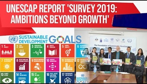 Survey 2019 Ambitions Beyond Growth report by UNESCAP