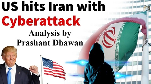 US hits Iran with Cyberattack