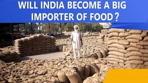 Agricultural self sustainability & food security of India