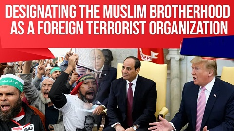 White House bats for declaring Muslim Brotherhood as a Terrorist Organisation