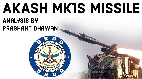 DRDO successfully test fires AKASH MK-1S missile