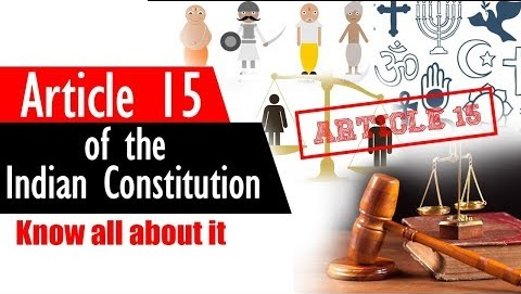 Article 15 of The Constitution of India