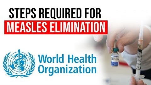 WHO declares Sri Lanka measles free nation
