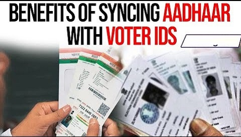 Benefits of linking Aadhaar with voter ID