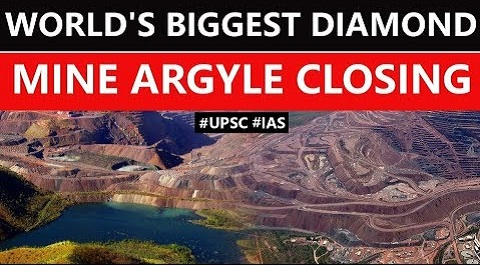 World's biggest diamond mine Argyle closing