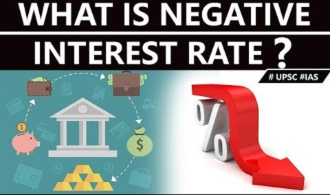 What is negative interest rate ?