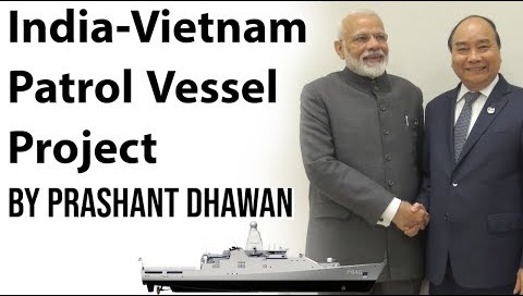 India-Vietnam patrol vessel project
