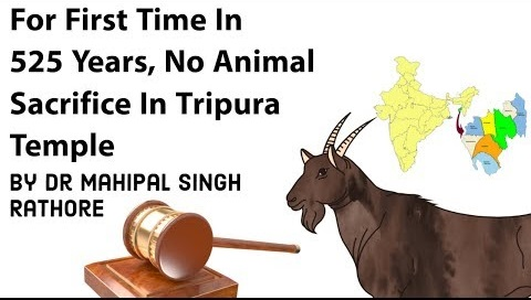 No animal sacrifice in Tripura temple-Orders High Court