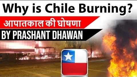 Why is Chile burning ?