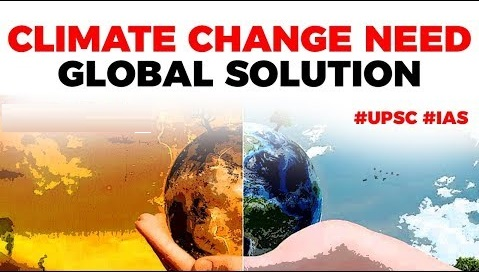 Climate Change needs Global Solution