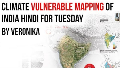 Climate Vulnerable Mapping Of India