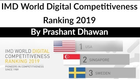IMD world digital competitiveness index 2019