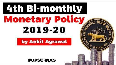 RBI's 4th Bi-monthly Monetary Policy 2019-20