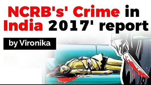 NCRB's Crime in India 2017 report