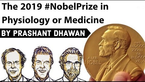 2019 Nobel prize in Physiology and Medicine