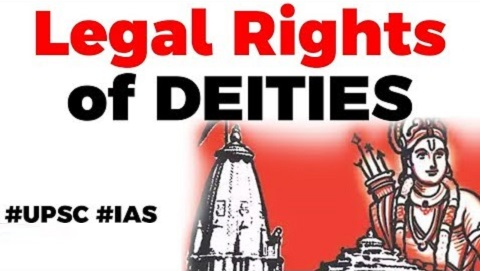Legal rights of Deities in India, Difference in Natural and Juristic Person