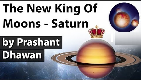New King of the Moons in the Solar system is Saturn