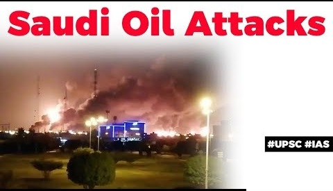Attacks on Saudi Oil facilities