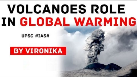 Role of Volcanoes in Global Warming