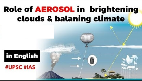 Aerosol formation brightening clouds