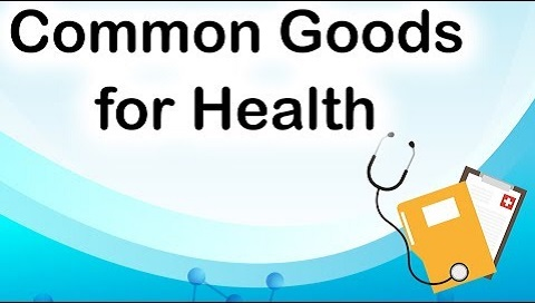 Common Goods for Health project by WHO