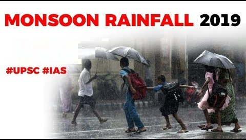 Monsoon Rainfall in India 2019