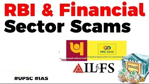 Financial Sector Scams in India