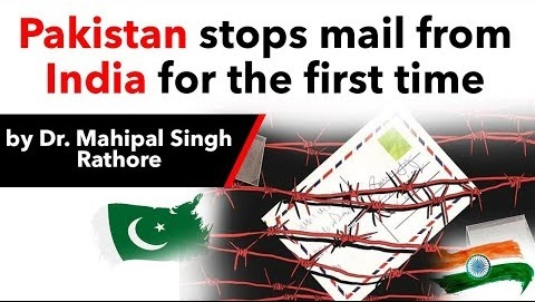 Pakistan stops postal exchange with India