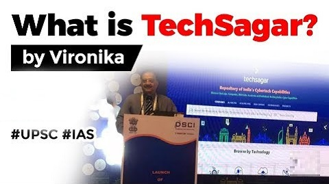 What is TechSagar? National repository of India's cyber tech capabilities.