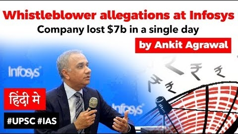 Whistle Blowers Allegations on Infosys