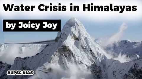 Water crisis in the Himalayan region, What are the reasons behind the water crisis