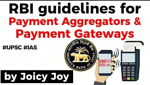 RBI releases guidelines Payment Aggregators and Payment Gateways
