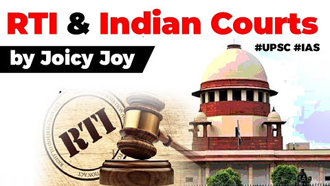 Supreme Court ruling on accessing court documents, Should Indian courts come under the ambit of RTI